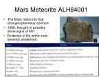 mars meteorite alh84001