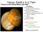 venus earth s evil twin