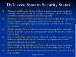 dyliacco system security states