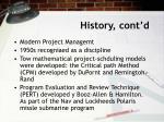 history cont d1