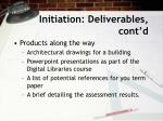 initiation deliverables cont d1