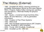 the history external
