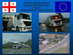 joint humanitarian action of european union and daimler chrysler brussels kabul september 2003