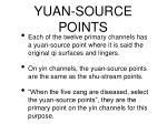 yuan source points