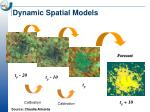 dynamic spatial models1