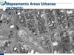 mapeamento reas urbanas ikonos