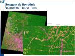 imagem de rond nia landsat tm 231 67 1990