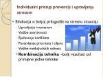 individualni pristup prevenciji i upravljanju stresom1
