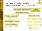 algoritmo per la gestione della riacutizzazione della bpco a domicilio