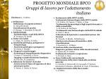 progetto mondiale bpco gruppi di lavoro per l adattamento italiano