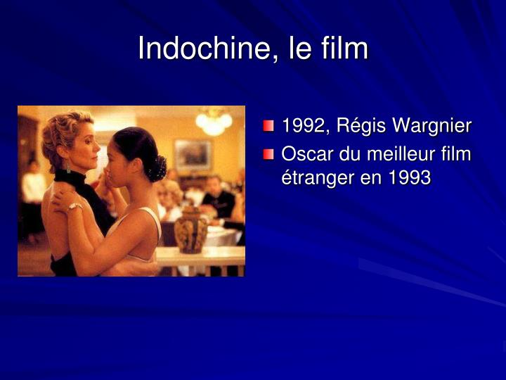 Indochine, le film