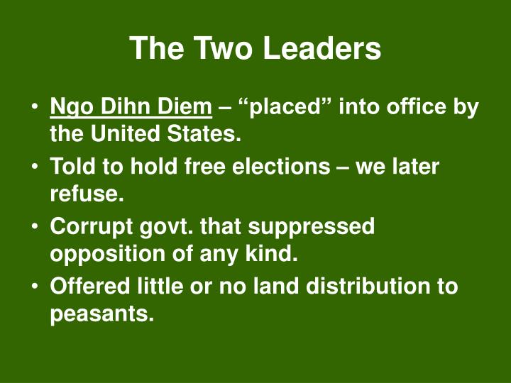 The Two Leaders
