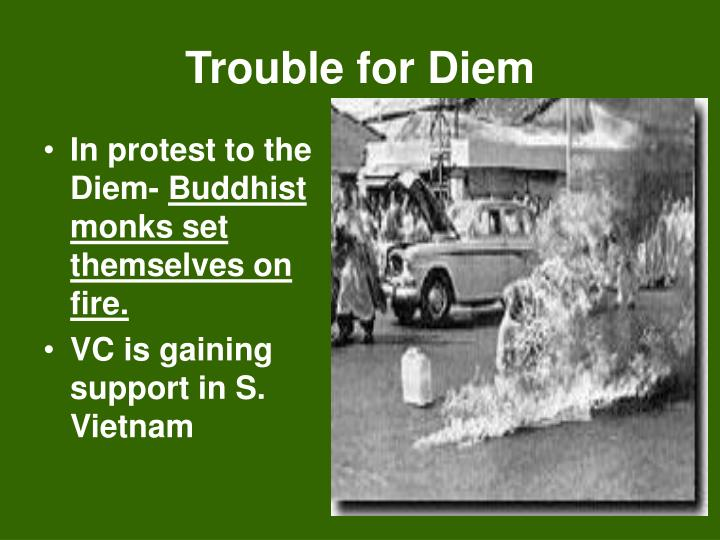 Trouble for Diem