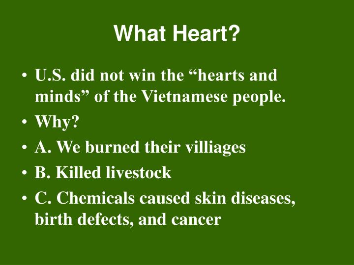 What Heart?