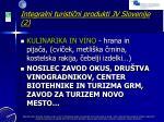integralni turisti ni produkti jv slovenije 2
