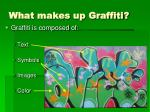 what makes up graffiti