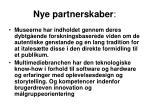 nye partnerskaber