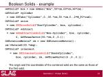 boolean solids example
