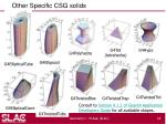 other specific csg solids