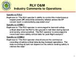 industry comments to operations1