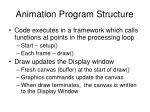 animation program structure