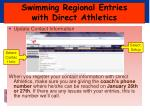 swimming regional entries with direct athletics1