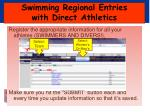 swimming regional entries with direct athletics2