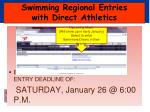 swimming regional entries with direct athletics3