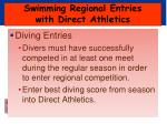 swimming regional entries with direct athletics5