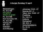 liturgie zondag 13 april3