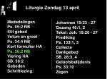 liturgie zondag 13 april6