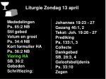 liturgie zondag 13 april7