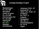 liturgie zondag 13 april8