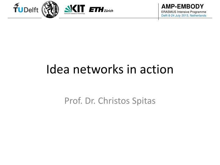 idea networks in action n.