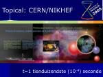 topical cern nikhef10