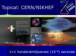 topical cern nikhef12