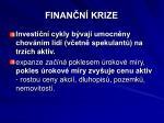 finan n krize