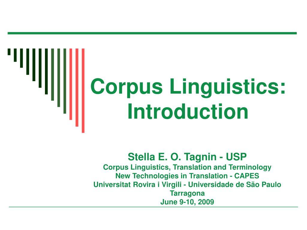 Ppt corpus linguistics for understanding the quran powerpoint.