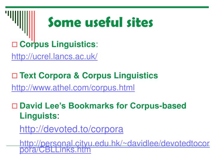 Some useful sites