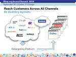 reach customers across all channels be inventory agnostic