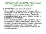 koncepcji programu adaptacji do pracy w firmie2