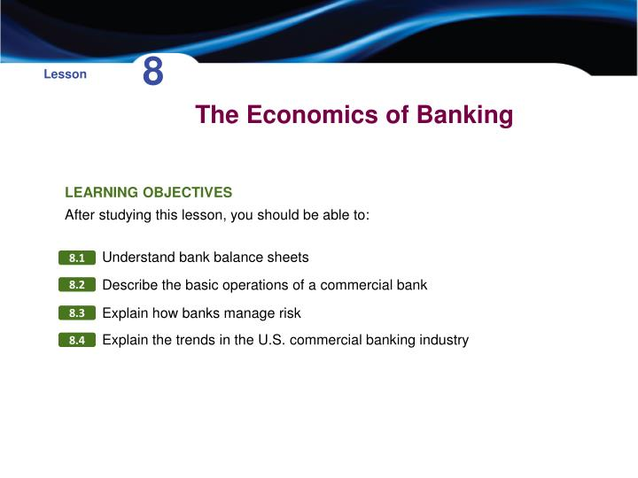 the economics of banking n.