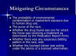 mitigating circumstances1