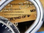 bankarske tehnologije