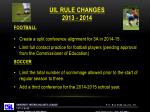 uil rule changes 2013 20142