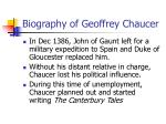 biography of geoffrey chaucer5