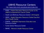 umhs resource centers http www med umich edu pteducation index htm