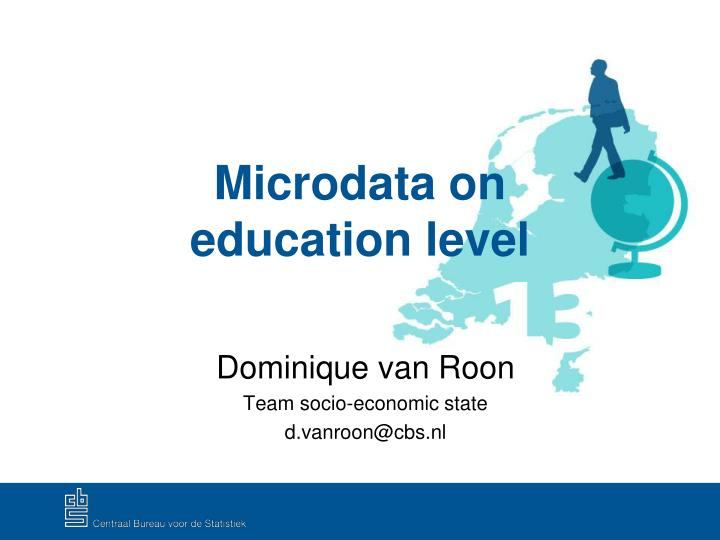 microdata on education level n.