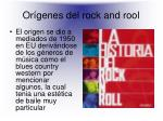or genes del rock and rool
