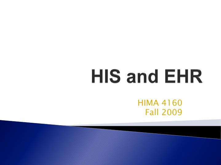 his and ehr n.